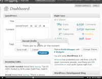 Understand and using the WordPress Dashboard